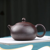 Handmade Firewood Xishi Purple Clay Teapot Suit Purple Mud