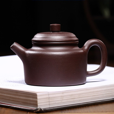 Yixing Handmade Purple Clay Teapot Purple Mud Mature Stable Classic