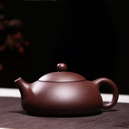 Yixing Handmade Kung Fu Tea Set Purple Mud Dongpo Stone Scoop