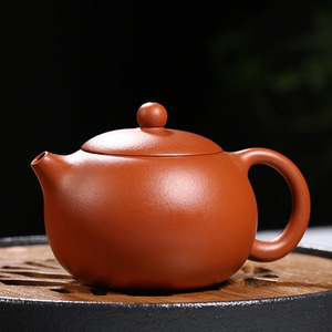 Handmade Xishi Purple Clay Teapot Kung Fu Tea Suit First Love Small Pot