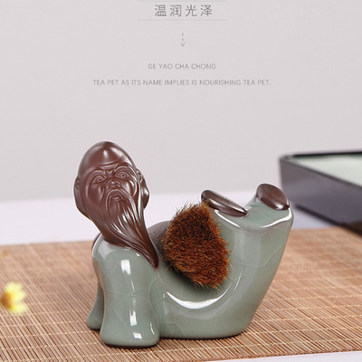 Handmade Creative Design Decoration Ceramics Happy Fairy Tea Pet