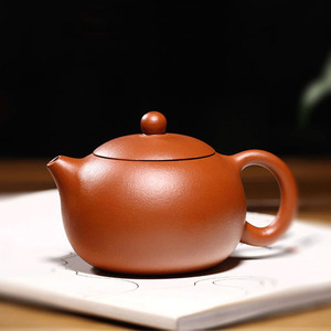 Handmade Xishi Purple Clay Teapot Cinnabar Mud Gift Box Packaging
