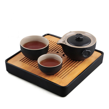 Personal Cup One Pot And Two Cups One Tea Tray Of Tea Set Gift Box Office Kung Fu Tea Set
